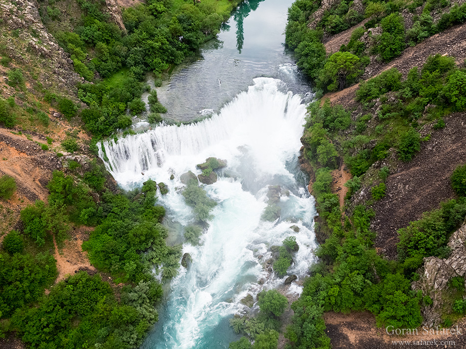 croatia, waterfall, zrmanja, Veliki buk, river