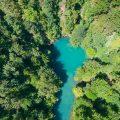 kupa, river, rapids, croatia, source, mountain, croatia, slovenia, aerial,