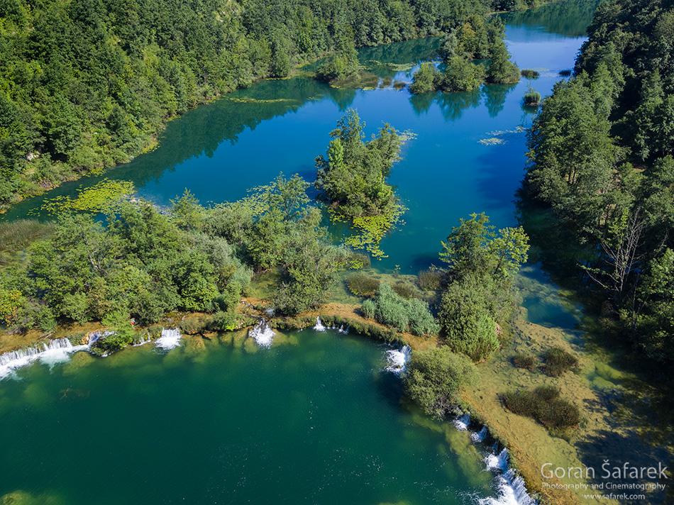 rivers, nature, croatia, mrežnica, tufa, waterfall,