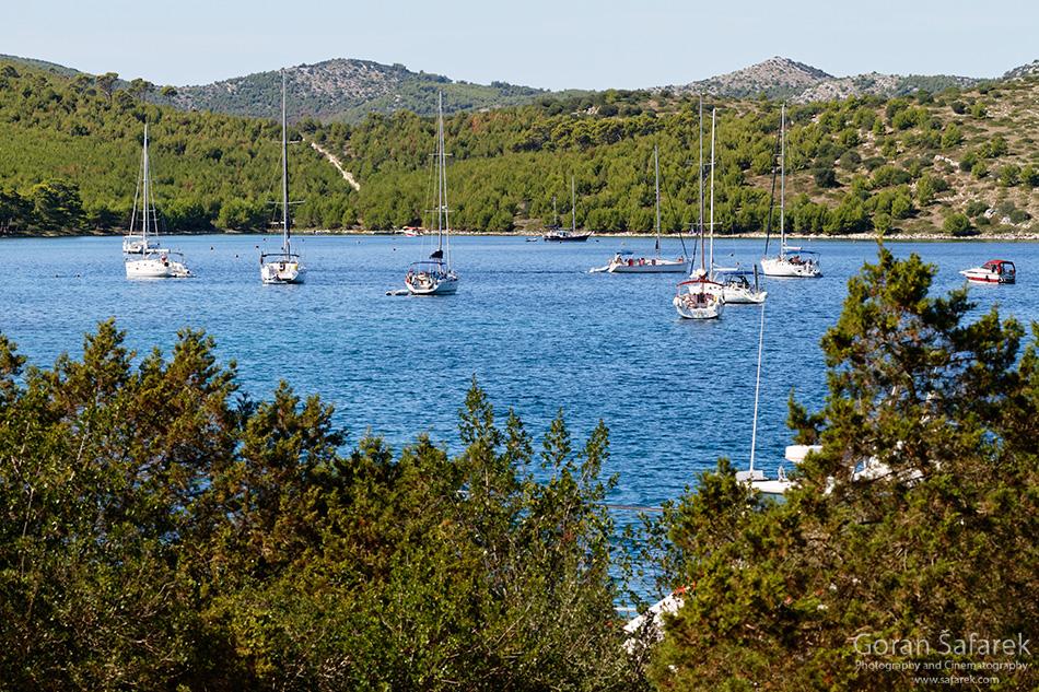 telašćica, telascica, coast, island, bay, cliff, adriatic, croatia