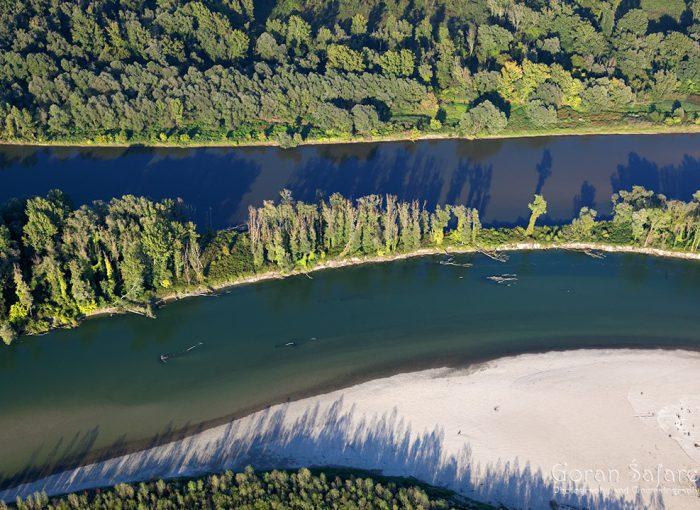 rivers, nature, croatia, drava, mura