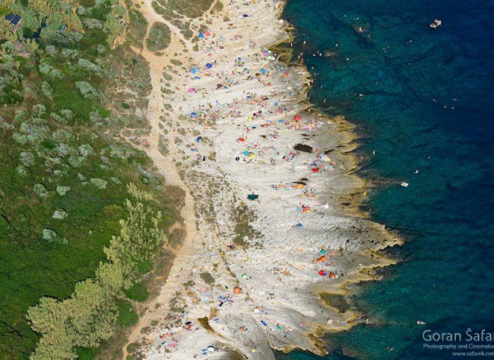 istra, kamenjak, coast, adriatic, sea