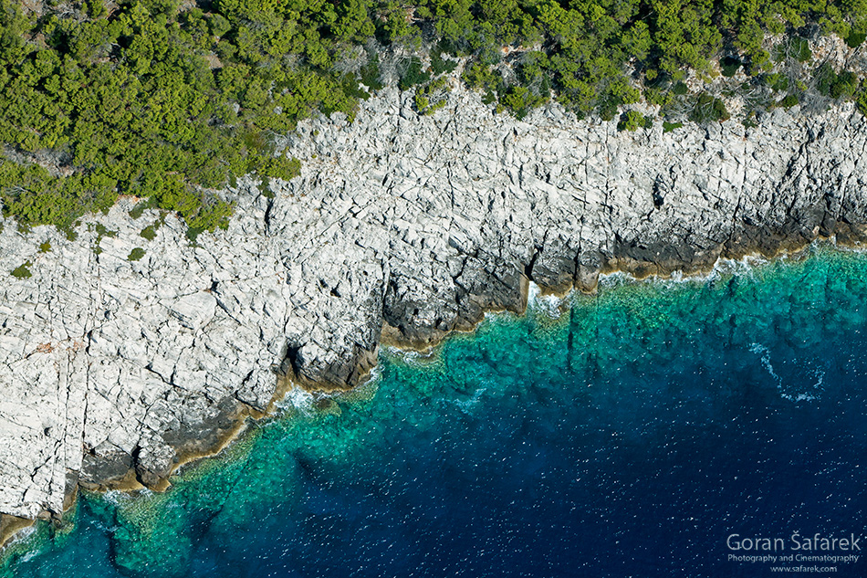 adriatic, croatia, coast, island, lastovo, sea,