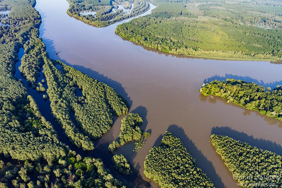 rivers, nature, croatia, danube, flood, floodplain