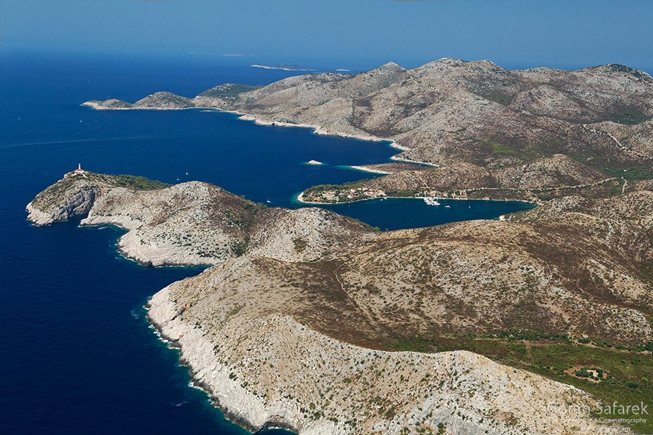 lastovo, coast, island, bay, cliff, adriatic, croatia