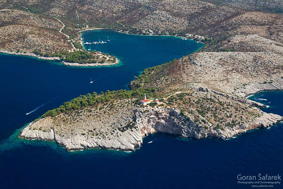 adriatic, croatia, coast, island, lastovo, sea, Skrivena Luka bay