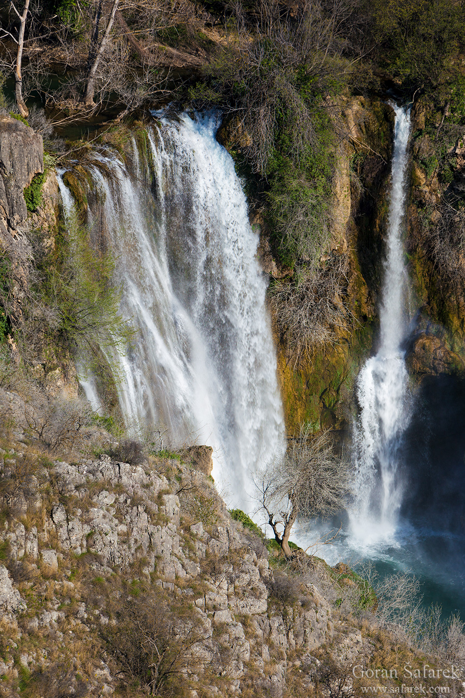 croatia, waterfall, krka, manojlovac, river