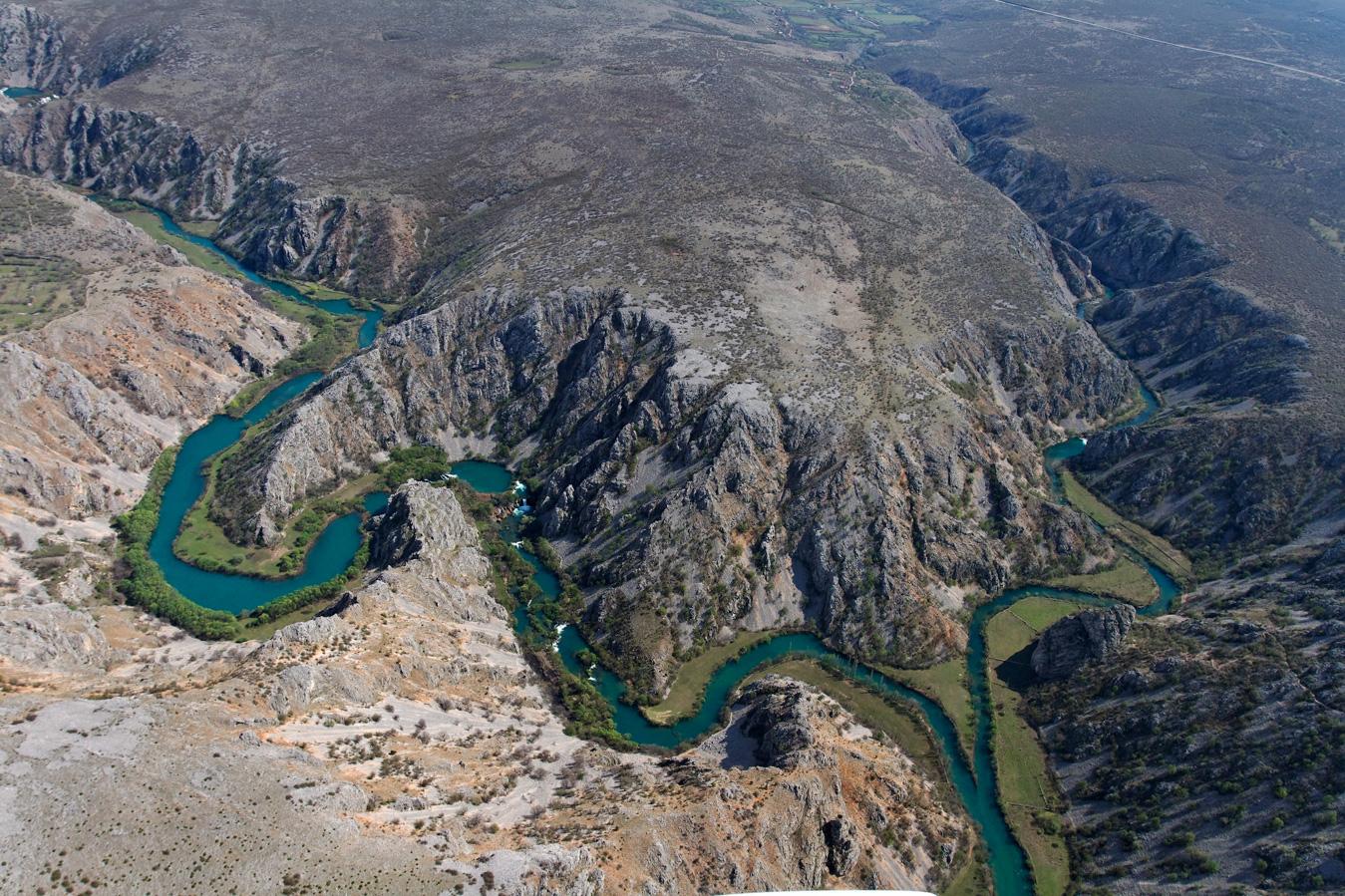 rivers, nature, croatia, canyon, confluence, krupa, zrmanja