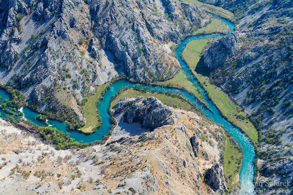 krupa, canyon, river, zrmanja, croatia, confluence