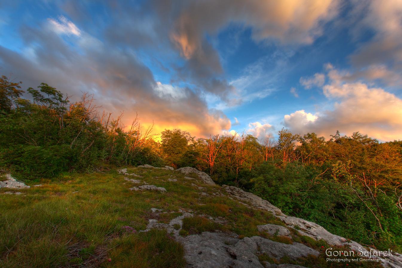 croatia, velebit, lika, mountain, national park, nature park, sunset