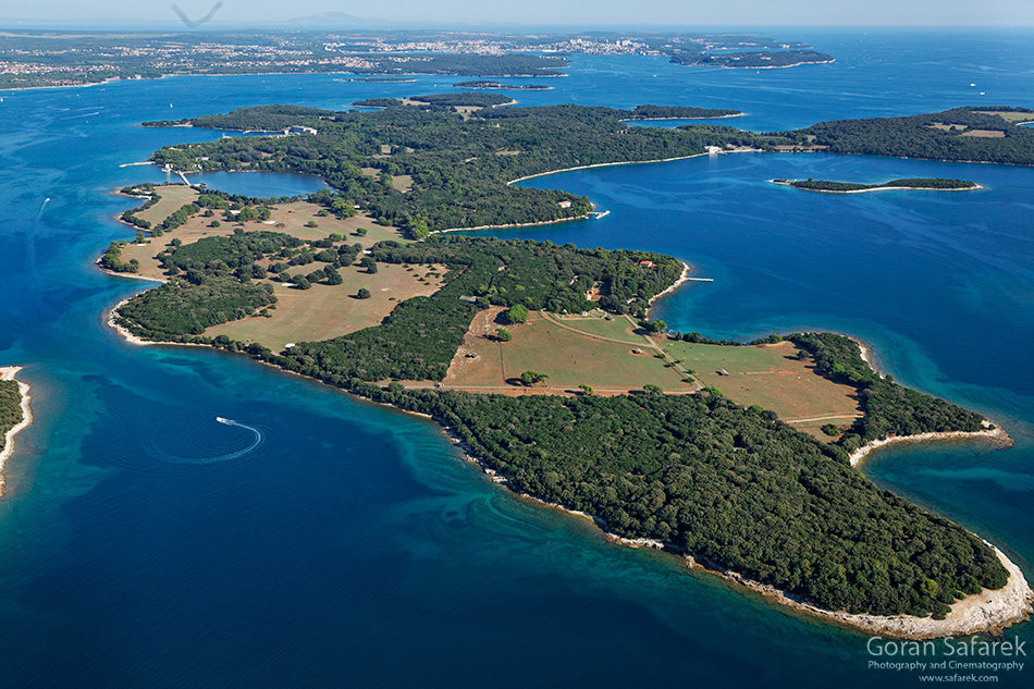 adriatic, croatia, coast, island, brijuni, national park, istra