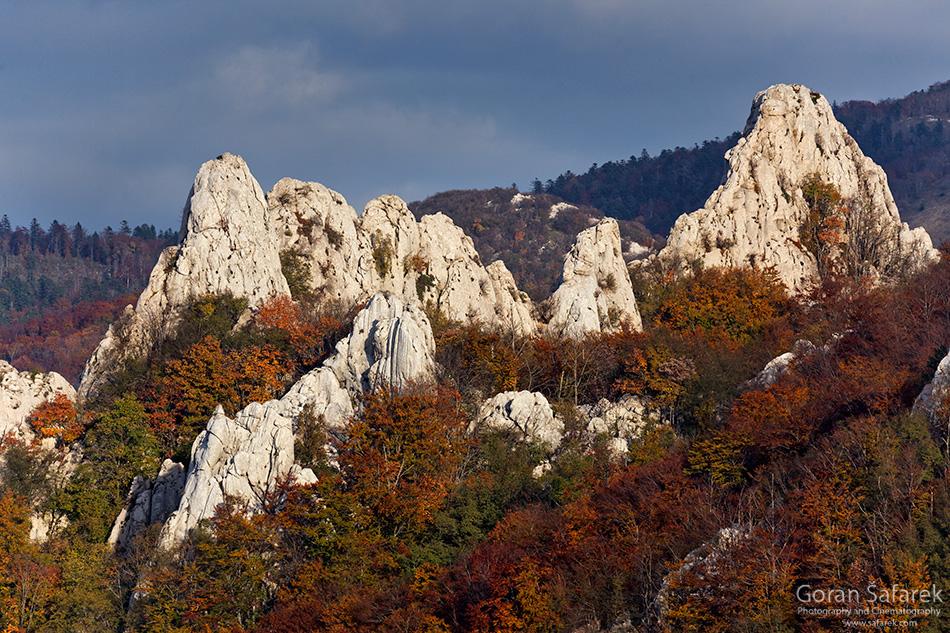 croatia, velebit, lika, mountain, national park, nature park, autumn, fall, rocks