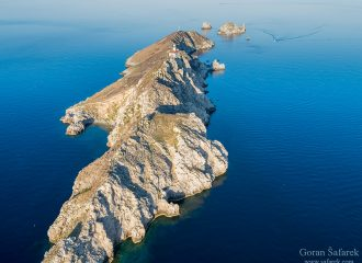 adriatic sea, coast, sea, Mediterranean, coastline, limestone, karst, Adriatic, seashore, sea, Hrvatska, Croatia, Kroatien, holidays, vacation, travel, tourism, Europe, island, Palagruža, swimming, sea, aerial, landscape, scenery, panorama,