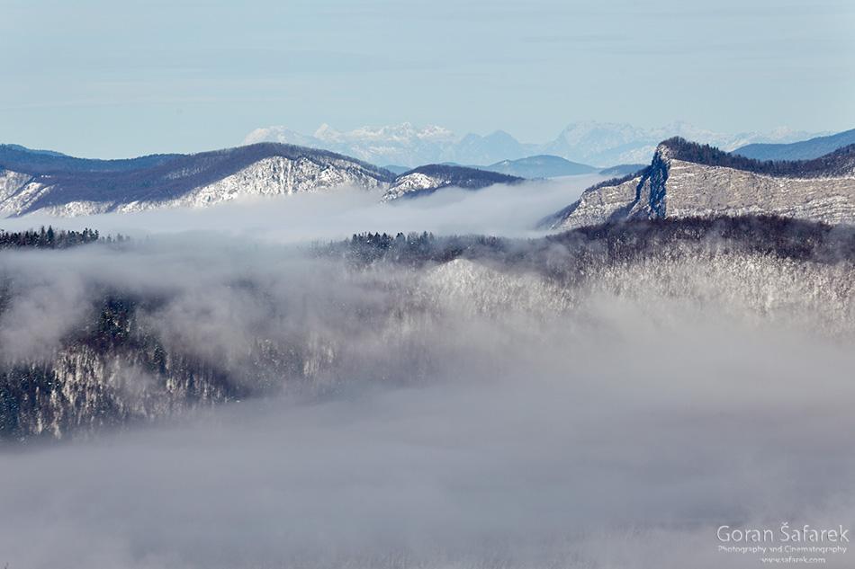 croatia, mountains, hiking, alpinism, summit, winter, gorski kotar