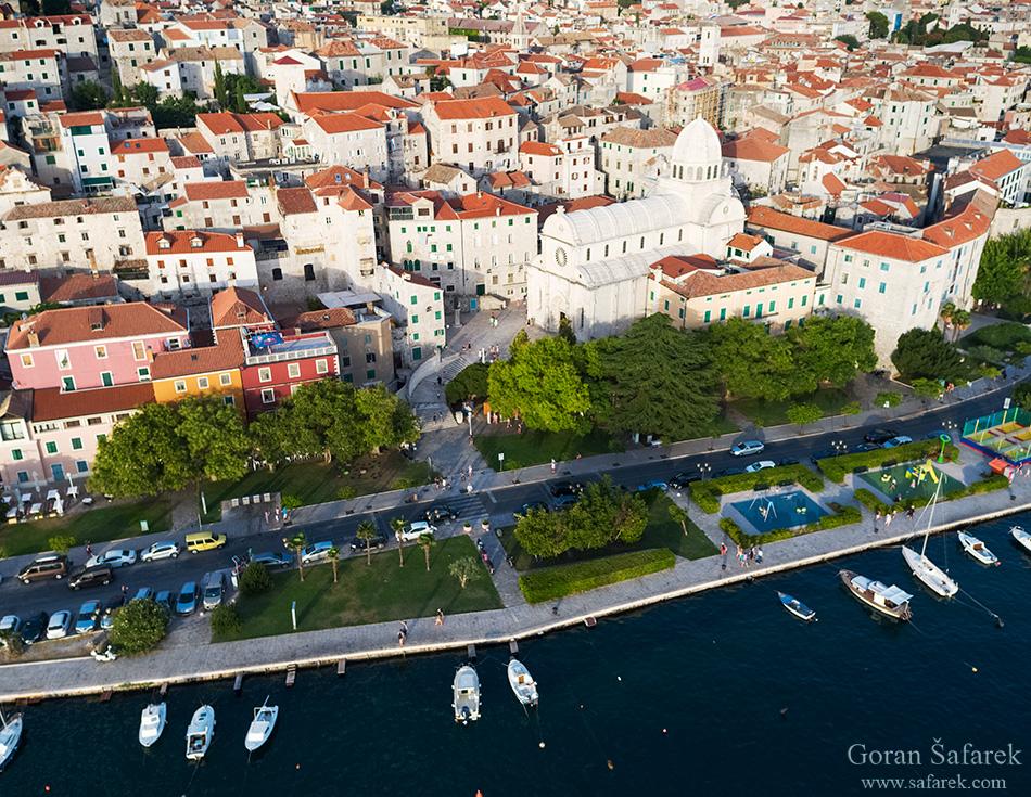 croatia, dalmatia, adriatc, sea, coast, šibenik