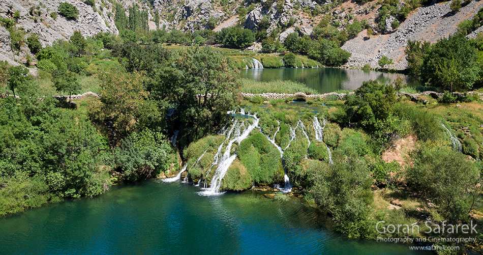 krupa, river, canyon, dalmatia, water, oasis,waterfall, Kudin most, Kude bridge