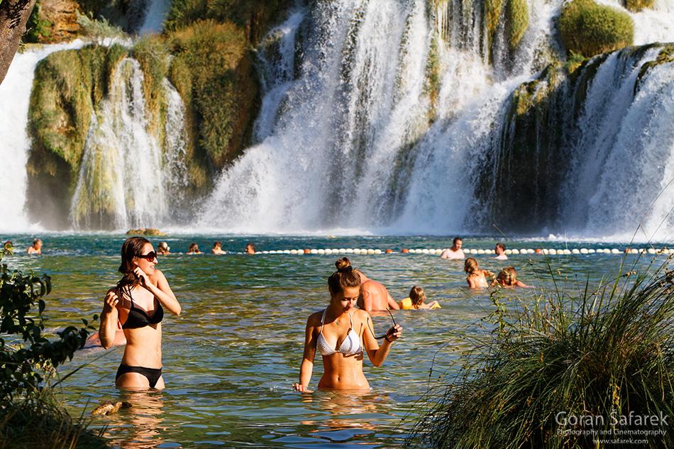 croatia, dalmatia, adriatc, sea, coast, krka, eaterfall, skradinski buk