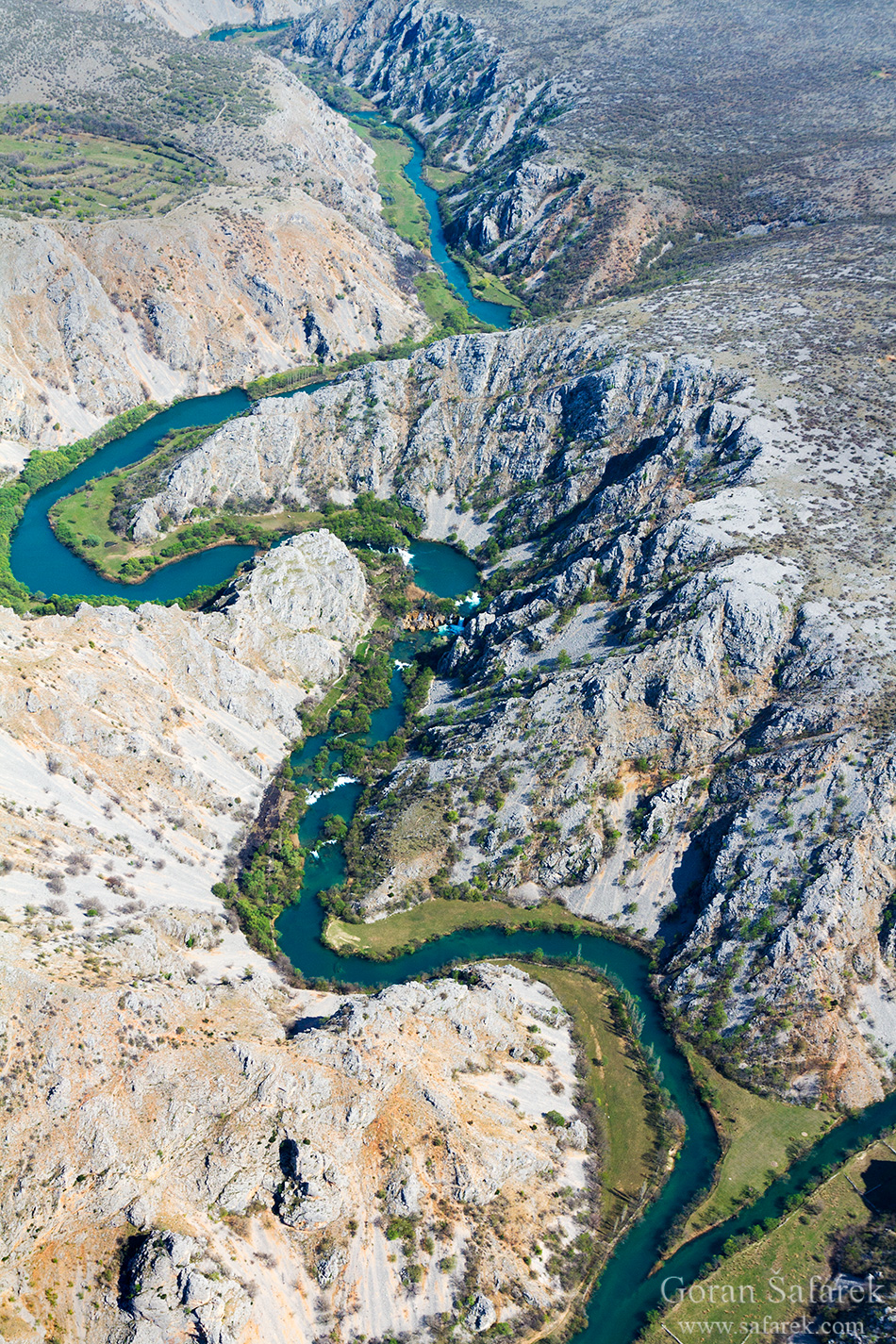 krupa, river, canyon, dalmatia, water, oasis,waterfall