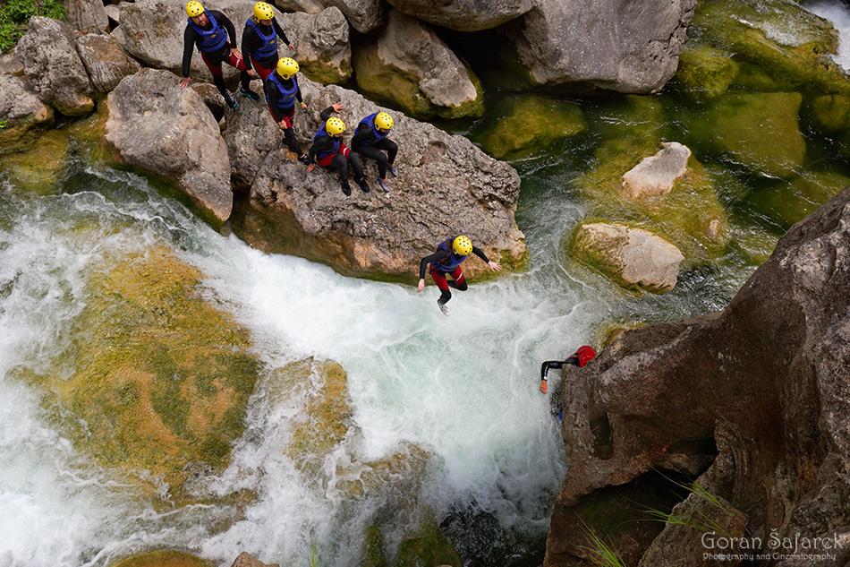 croatia, dalmatia, adriatc, sea, coast, canyoning, rivers, omiš