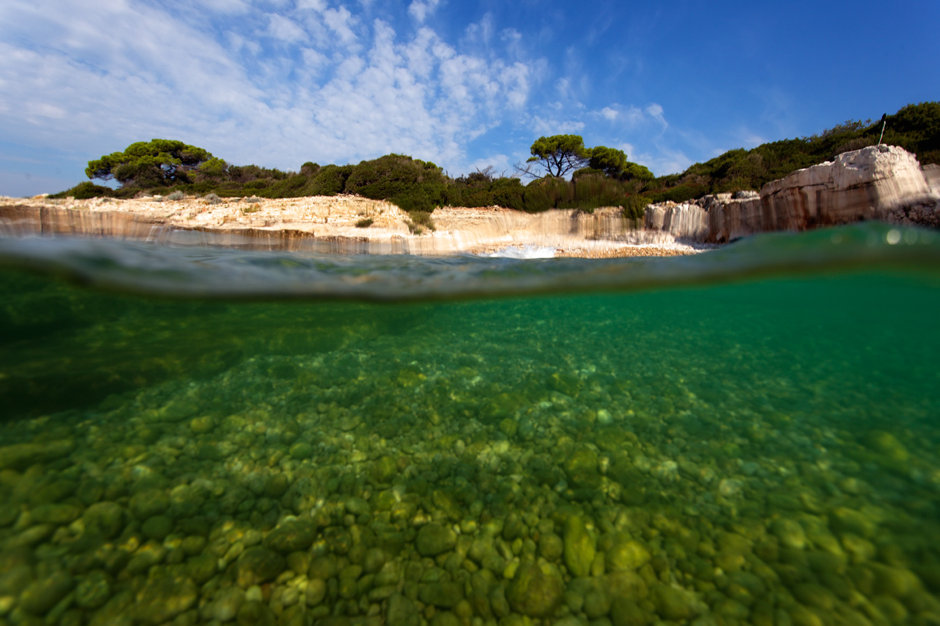 croatia, sea, brijuni, istra, croatia, national park, coast, adriatic, underwater,island