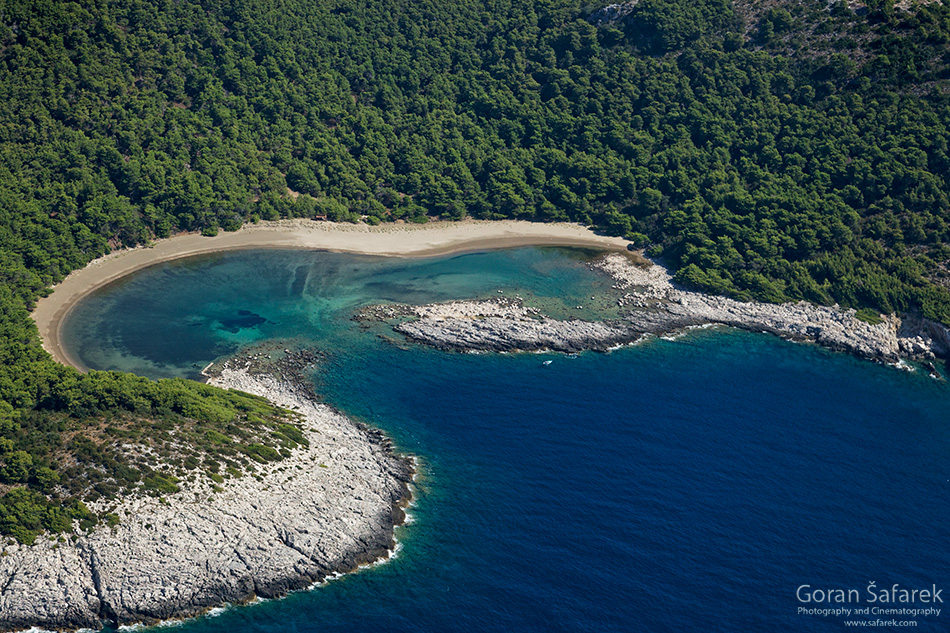 mljet, adriatic, sea, island, croatia, national park, coast, blace, saplunara