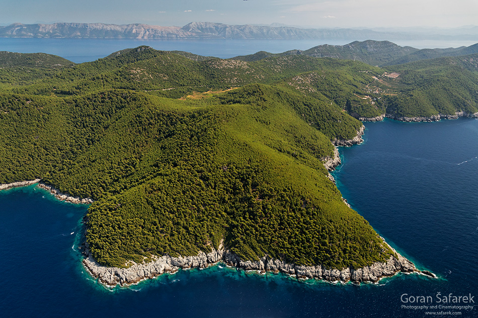 mljet, adriatic, sea, island, croatia, national park, coast,