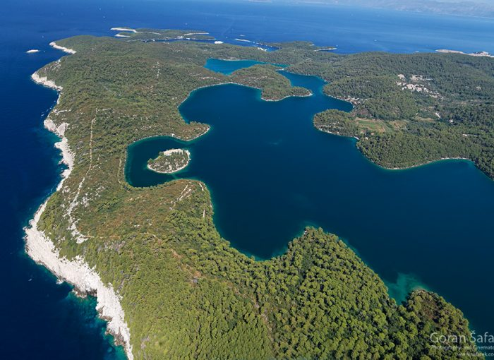 mljet, adriatic, sea, island, croatia, national park, coast, saline lakes