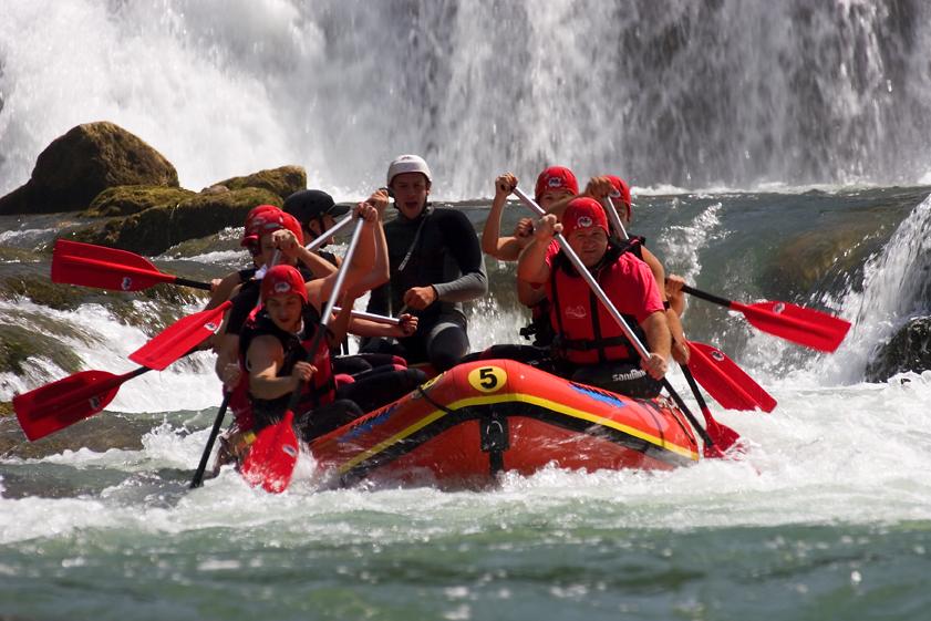 rafting, canoeing, whitewater, white water, adrenaline, action,una, bihać
