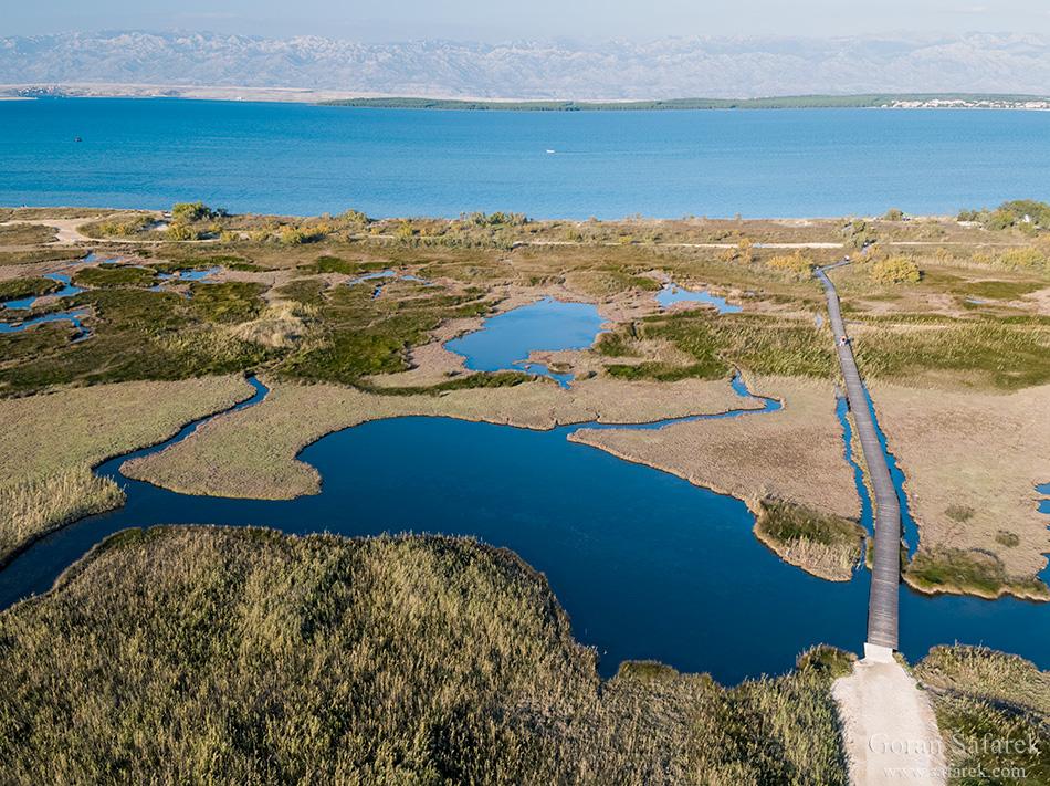 nin, croatia, lagoon, royal, dalmatia, adriatic, coast,sea,sandy, beach