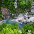 Kotli, istra, istria, croatia, village, river,watermill,rapids, waterfall