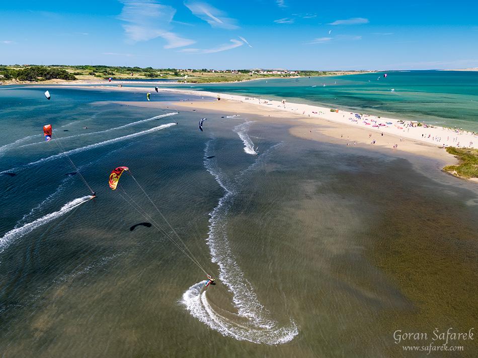 nin, croatia, lagoon, royal, dalmatia, adriatic, coast,sea,sandy, beach, ždrijac, kitesurfing