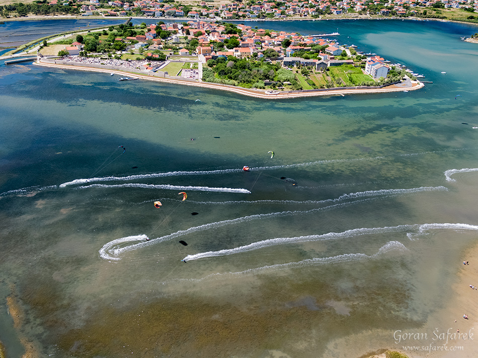nin, croatia, lagoon, royal, dalmatia, adriatic, coast,sea,sandy, beach, kitesurfing