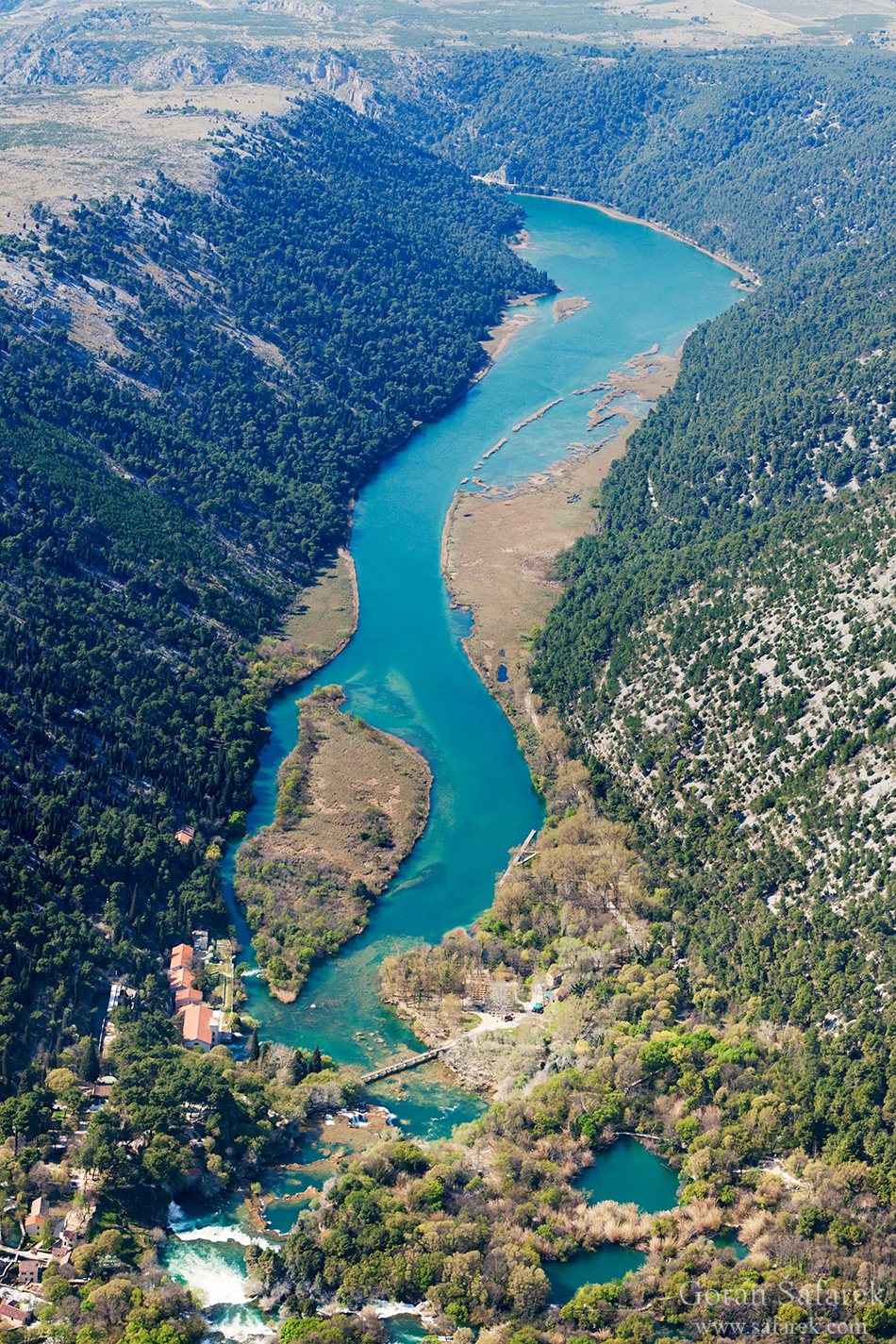 krka, national park, river,dalmatia, water,guide,Skradinski buk, waterfall