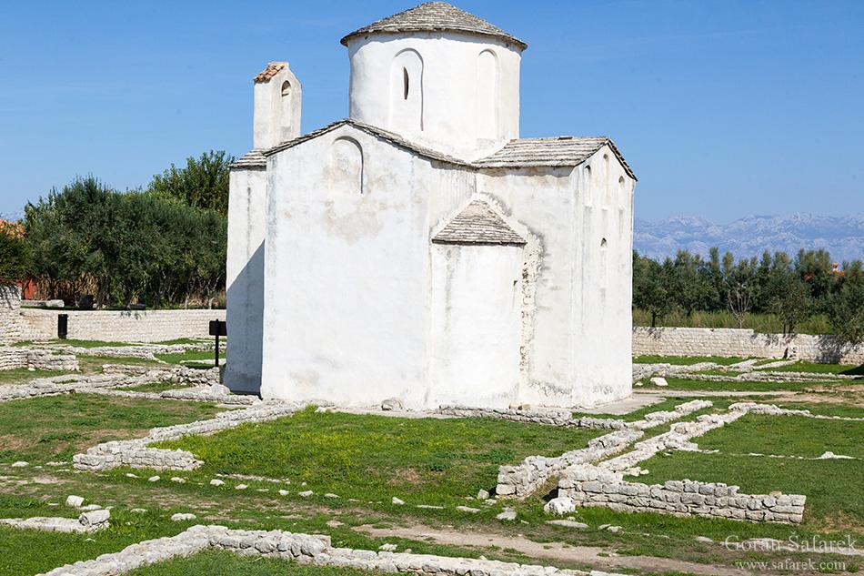 nin, croatia, lagoon, royal, dalmatia, adriatic, coast,sea,sandy, beach, church