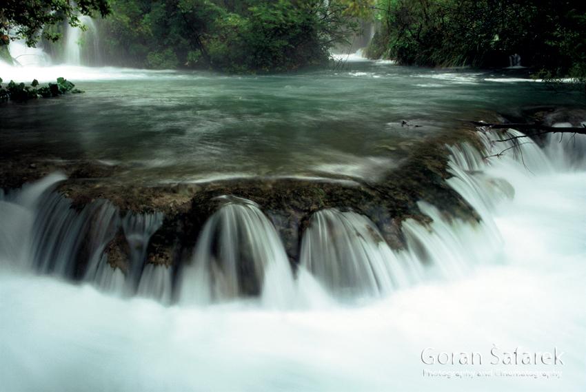Milka Trnina Waterfall, Plitvice lakes, plitvička jezera, national park, croatia,