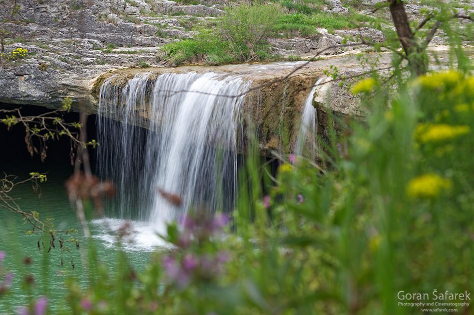 croatia, istria, pazin, pazinčica, waterfall, pazinski krov, zarečki krov