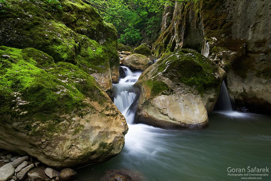 croatia, istria, pazin, pazinčica, rapids, waterfall
