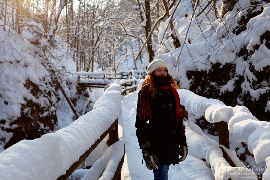 forest, mountain, kamačnik, canoyn,river,gorski kotar,vrbovsko, croatia, rapids,waterfalls,winter, snow