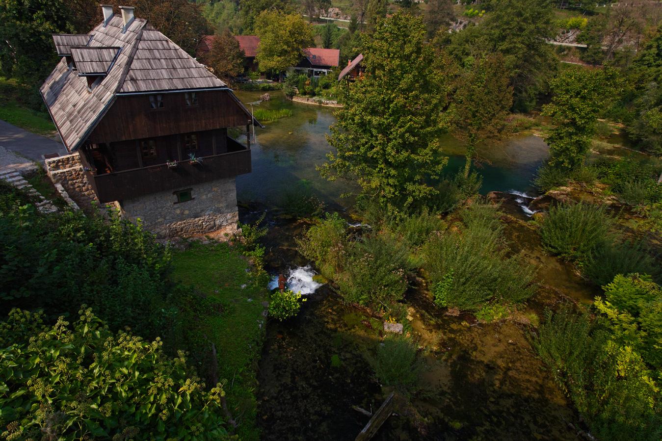 rastoke, slunj, watermill, croatia