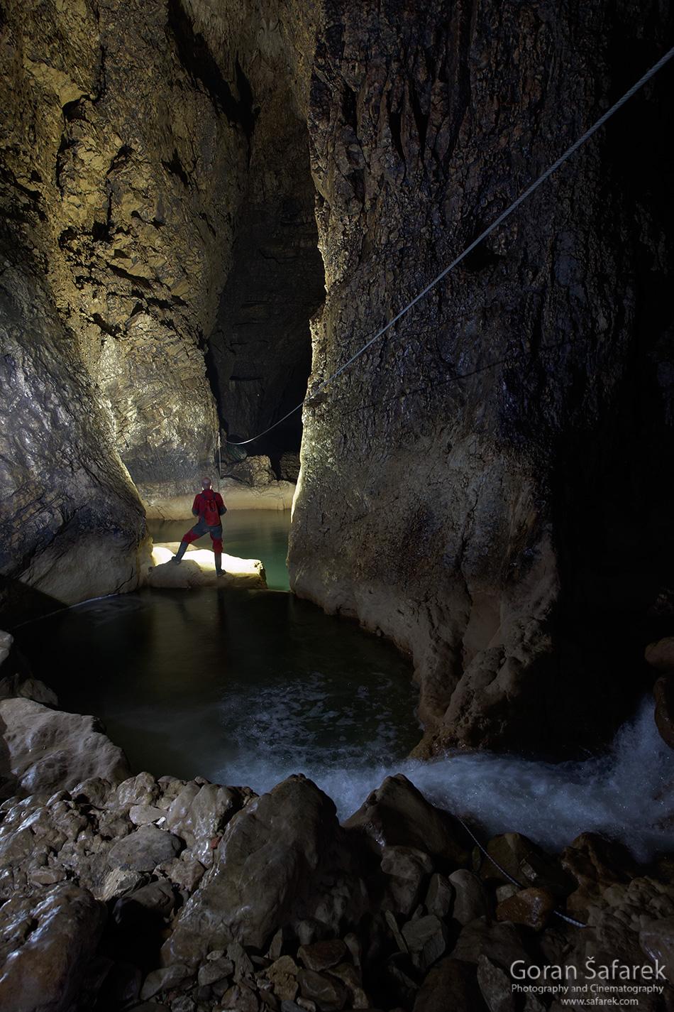 croatia, istria, pazin, pazinčica, cave, chams, abyss, caving