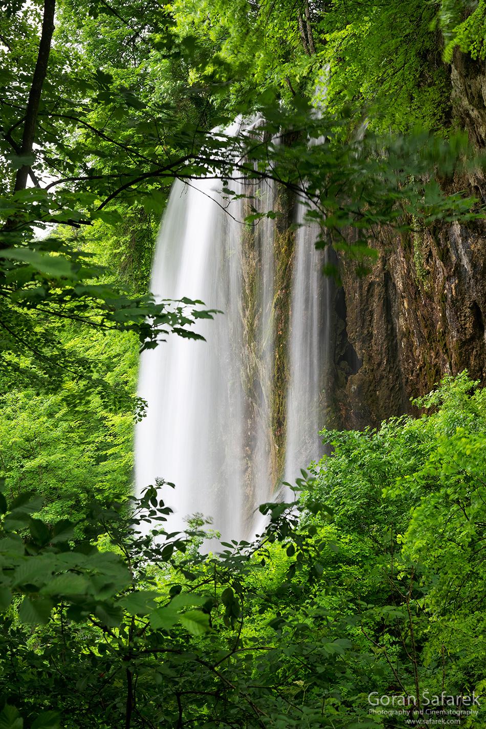 papuk, croatia, stream, mountain, nature park, slavonia, waterfall