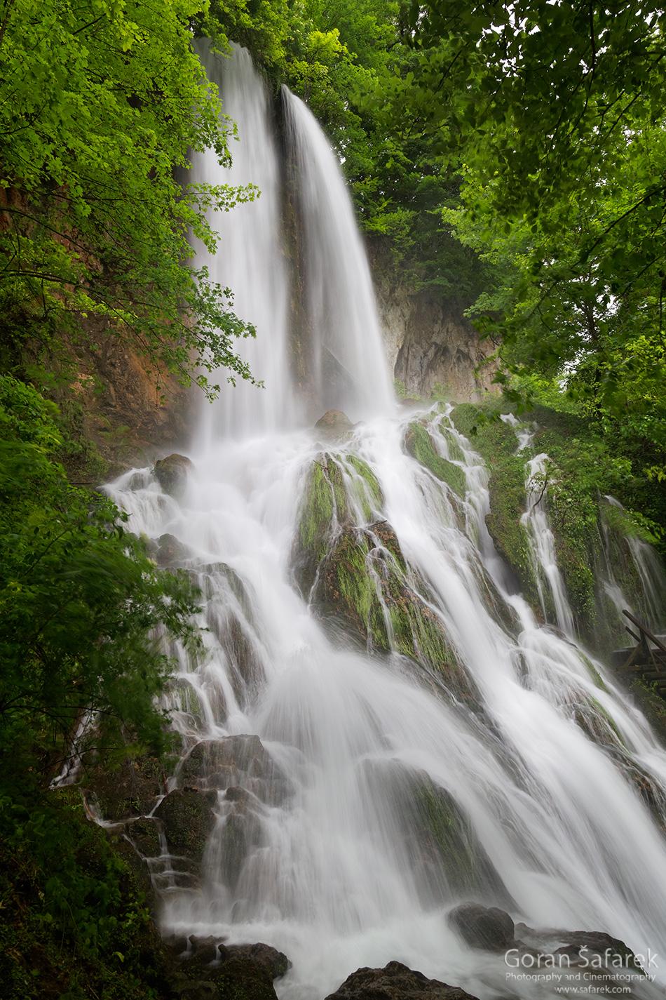 papuk, croatia, stream, mountain, nature park, slavonia, rapids, waterfall