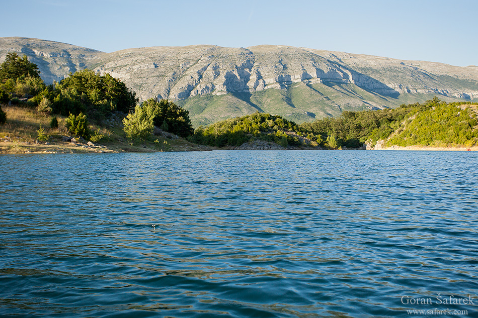 The Cetina River, dalmatia, rivers, water, valley,reservoir, peruča