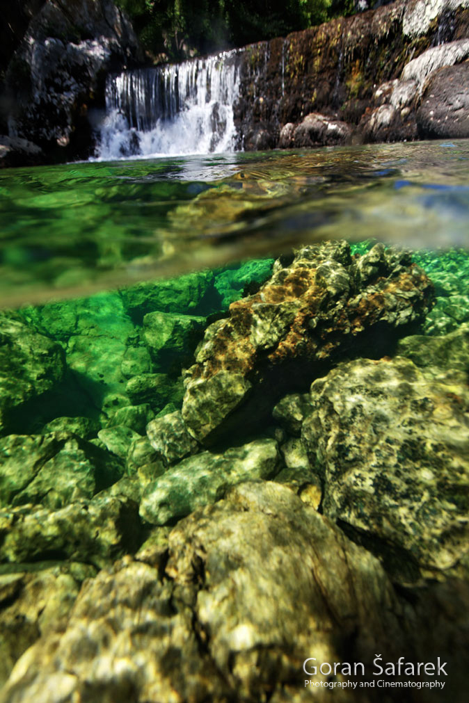 The Cetina River, dalmatia, rivers, water, waterfall