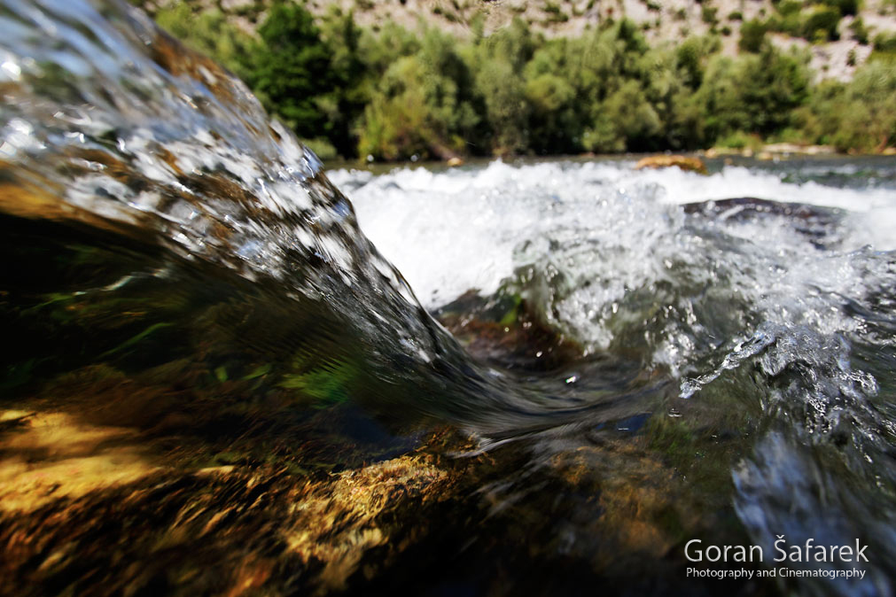 The Cetina River, dalmatia, rivers, water, rapids