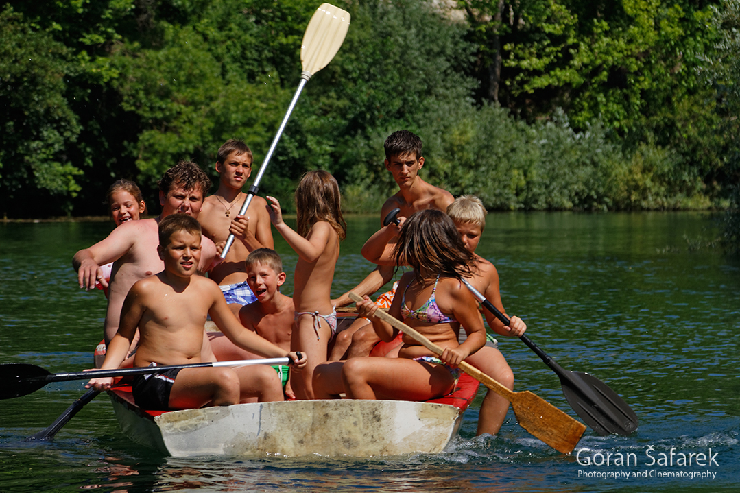 The Cetina River, dalmatia, rivers, water, paddling