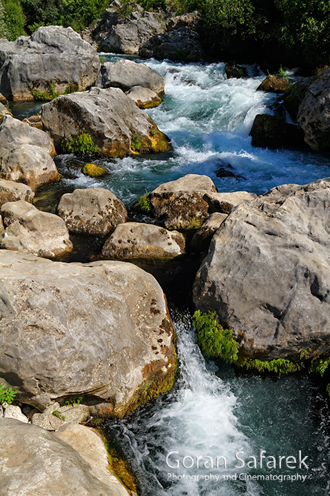 The Cetina River, dalmatia, rivers, water, waterfall, rapids, studenci