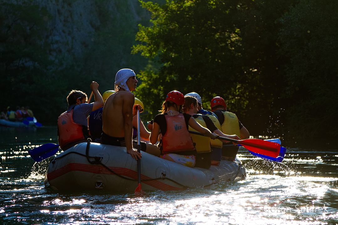 The Cetina River, dalmatia, rivers, water, waterfall, rapids, rafting