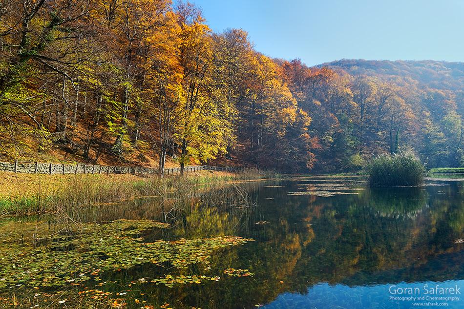 papuk, croatia, stream, mountain, nature park, slavonia, lake, autumn