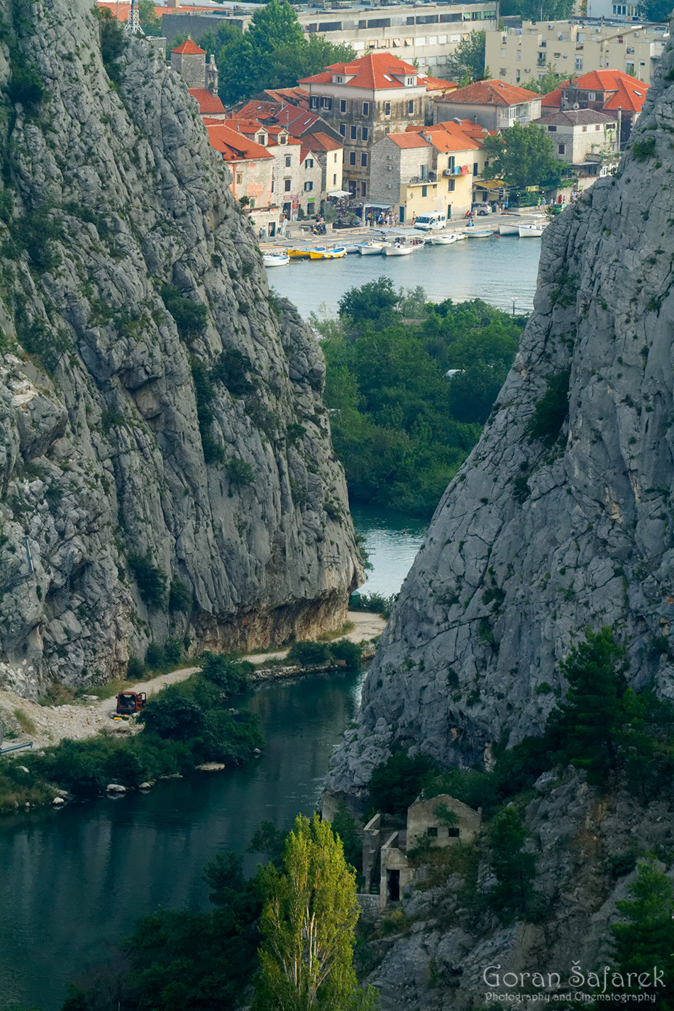 The Cetina River, dalmatia, rivers, water, omiš, boat, estuary